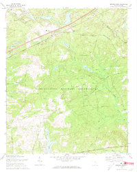 Download a high-resolution, GPS-compatible USGS topo map for Messers Pond, SC (1973 edition)
