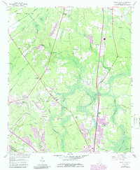 Download a high-resolution, GPS-compatible USGS topo map for Mount Holly, SC (1986 edition)