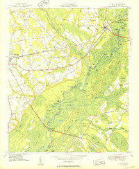 Download a high-resolution, GPS-compatible USGS topo map for Nichols, SC (1950 edition)