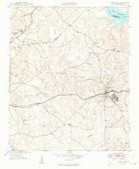 Download a high-resolution, GPS-compatible USGS topo map for Ninety-Six, SC (1949 edition)