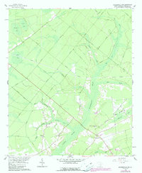Download a high-resolution, GPS-compatible USGS topo map for Summerville NW, SC (1990 edition)