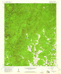 Download a high-resolution, GPS-compatible USGS topo map for Tamassee, SC (1960 edition)