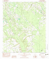 Download a high-resolution, GPS-compatible USGS topo map for Tony Hill Bay, SC (1983 edition)
