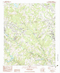 Download a high-resolution, GPS-compatible USGS topo map for Wellford, SC (1983 edition)