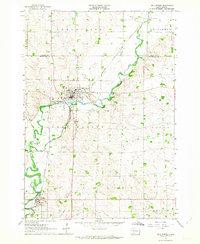 USGS 1:24000-scale Quadrangle for Dell Rapids, SD 1962