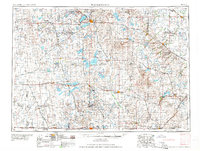 USGS 1:250000-scale Quadrangle for Watertown, SD 1958 - ScienceBase ...