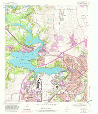 map of lake worth tx Usgs 1 24000 Scale Quadrangle For Lake Worth Tx 1955 Data Gov map of lake worth tx
