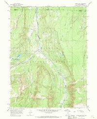 USGS 1:24000-scale Quadrangle for Lyman Lake, UT 1967 - Data gov