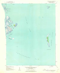 Tangier Island Virginia Map.Usgs 1 24000 Scale Quadrangle For Tangier Island Va 1942