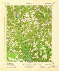 USGS 1:31680-scale Quadrangle for Montross, VA 1944