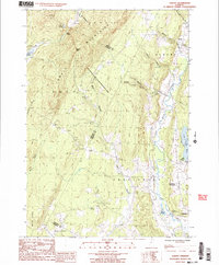 Download a high-resolution, GPS-compatible USGS topo map for Albany, VT (1987 edition)