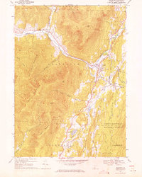 Download a high-resolution, GPS-compatible USGS topo map for Arlington, VT (1971 edition)