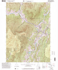 Download a high-resolution, GPS-compatible USGS topo map for Arlington, VT (2000 edition)