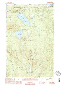 Download a high-resolution, GPS-compatible USGS topo map for Averill, VT (1989 edition)