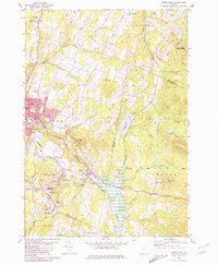 Download a high-resolution, GPS-compatible USGS topo map for Barre East, VT (1981 edition)