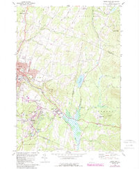 Download a high-resolution, GPS-compatible USGS topo map for Barre East, VT (1988 edition)