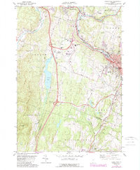 Download a high-resolution, GPS-compatible USGS topo map for Barre West, VT (1988 edition)