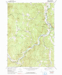 Download a high-resolution, GPS-compatible USGS topo map for Bethel, VT (1990 edition)