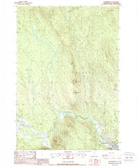 Download a high-resolution, GPS-compatible USGS topo map for Bloomfield, VT (1988 edition)