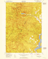 Download a high-resolution, GPS-compatible USGS topo map for Bolton Mountain, VT (1953 edition)