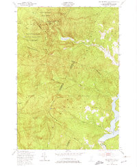 Download a high-resolution, GPS-compatible USGS topo map for Bolton Mountain, VT (1974 edition)
