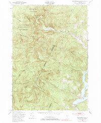Download a high-resolution, GPS-compatible USGS topo map for Bolton Mountain, VT (1985 edition)