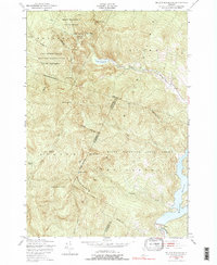 Download a high-resolution, GPS-compatible USGS topo map for Bolton Mountain, VT (1991 edition)