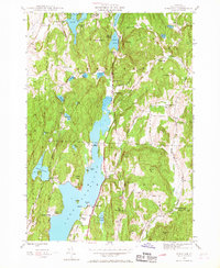 Download a high-resolution, GPS-compatible USGS topo map for Bomoseen, VT (1968 edition)