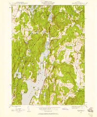 Download a high-resolution, GPS-compatible USGS topo map for Bomoseen, VT (1958 edition)