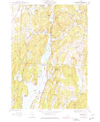 Download a high-resolution, GPS-compatible USGS topo map for Bomoseen, VT (1977 edition)