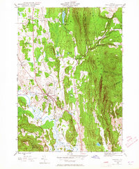 Download a high-resolution, GPS-compatible USGS topo map for Brandon, VT (1965 edition)