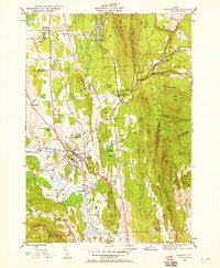 Download a high-resolution, GPS-compatible USGS topo map for Brandon, VT (1958 edition)
