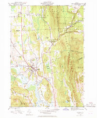 Download a high-resolution, GPS-compatible USGS topo map for Brandon, VT (1969 edition)
