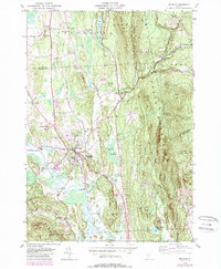 Download a high-resolution, GPS-compatible USGS topo map for Brandon, VT (1988 edition)