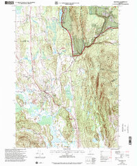 Download a high-resolution, GPS-compatible USGS topo map for Brandon, VT (2000 edition)