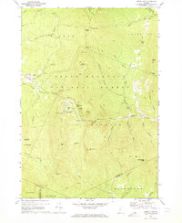 Download a high-resolution, GPS-compatible USGS topo map for Bread Loaf, VT (1973 edition)