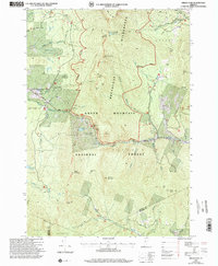 Download a high-resolution, GPS-compatible USGS topo map for Bread Loaf, VT (2000 edition)