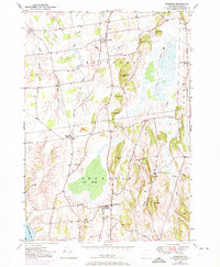 Download a high-resolution, GPS-compatible USGS topo map for Bridport, VT (1973 edition)