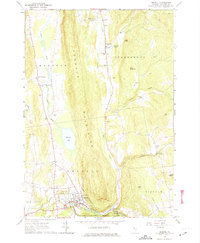 Download a high-resolution, GPS-compatible USGS topo map for Bristol, VT (1974 edition)