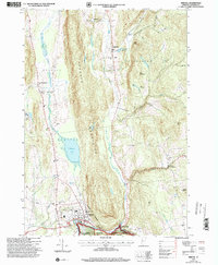 Download a high-resolution, GPS-compatible USGS topo map for Bristol, VT (2000 edition)