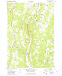 Download a high-resolution, GPS-compatible USGS topo map for Brookfield, VT (1981 edition)