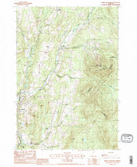 Download a high-resolution, GPS-compatible USGS topo map for Burke Mountain, VT (1988 edition)