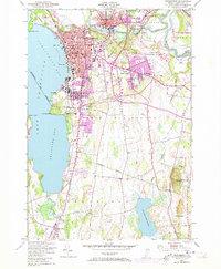 Download a high-resolution, GPS-compatible USGS topo map for Burlington, VT (1973 edition)