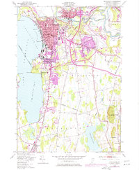Download a high-resolution, GPS-compatible USGS topo map for Burlington, VT (1977 edition)