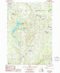Download a high-resolution, GPS-compatible USGS topo map for Cabot, VT (1987 edition)