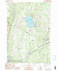 Download a high-resolution, GPS-compatible USGS topo map for Caspian Lake, VT (1987 edition)