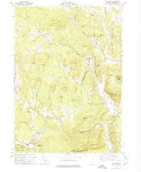 Download a high-resolution, GPS-compatible USGS topo map for Cavendish, VT (1974 edition)