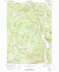 Download a high-resolution, GPS-compatible USGS topo map for Cavendish, VT (1991 edition)