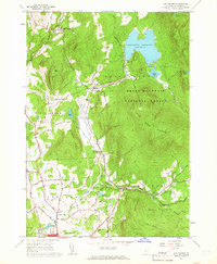 Download a high-resolution, GPS-compatible USGS topo map for Chittenden, VT (1966 edition)