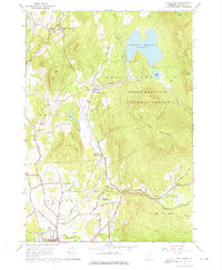 Download a high-resolution, GPS-compatible USGS topo map for Chittenden, VT (1976 edition)